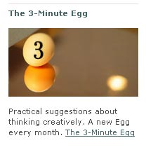 The 3-Minute Egg